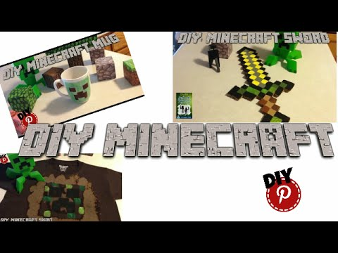DIY: Minecraft – Create Minecraft Items – Free Printables