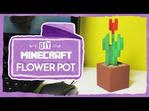 Minecraft: Flower Pot (DIY)
