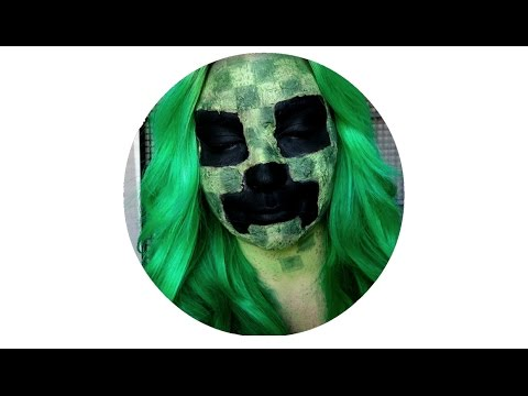 Minecraft Creeper Halloween Cosplay Tutorial