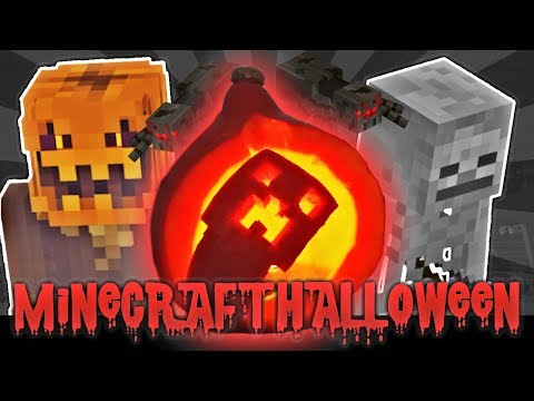 Minecraft Halloween – Wycinamy Creepera  (Minecraft Creeper Pumpkin DIY)