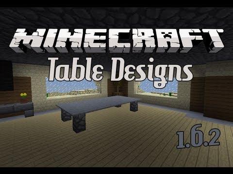 Minecraft: Best Table Designs (New Designs)