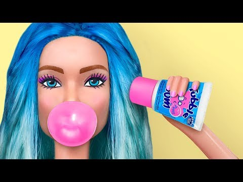 8 Tiny Candies For Barbie That You Can Actually Eat / Clever Barbie Hacks And Crafts