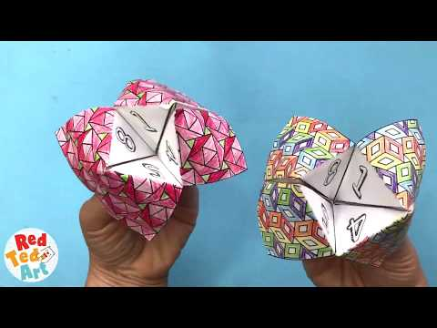 Ice Breakers for Back to School – Printable Cootie Catchers