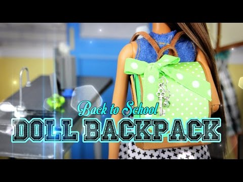 DIY – How to Make a Doll Backpack – Handmade – Doll – Crafts