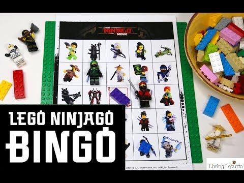 LEGO NINJAGO BINGO – Free Printable Game