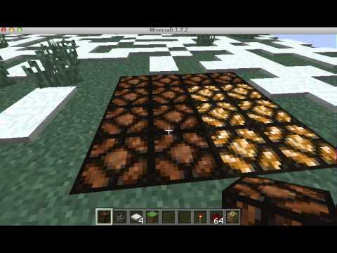 How to build a light up dance floor on minecraft