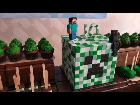 Minecraft Birthday Party Ideas – Little Wish Parties childrens party blog