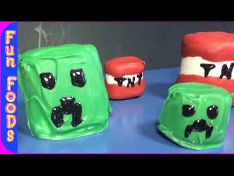 MineCraft Marshmallow Characters