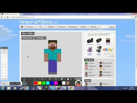 how to decorate your minecraft skin
