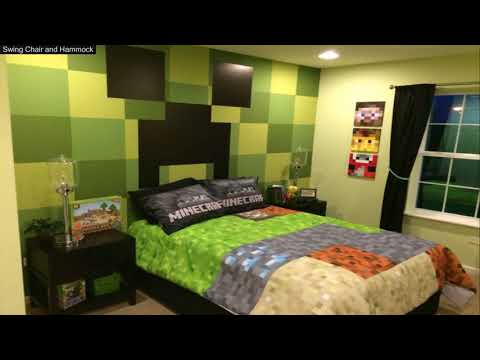 Minecraft Decorated Room