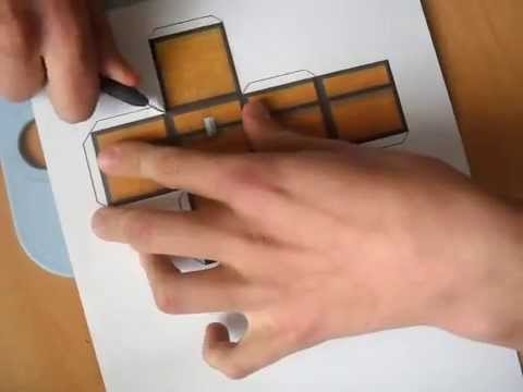Minecraft Papercraft: how to make great quality chest
