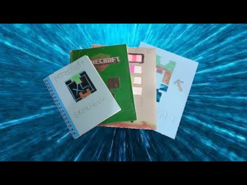 DIY Minecraft School Supplies!