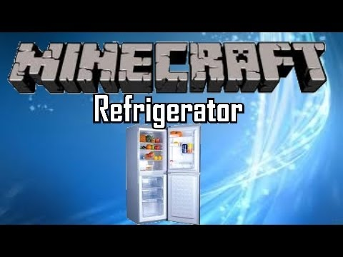 Minecraft Furniture Tutorial – Refrigerator