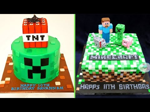 DIY Make Minecraft Cakes Decorating at Home! Cake Style 2017 – Amazing Chocolate Cakes Video