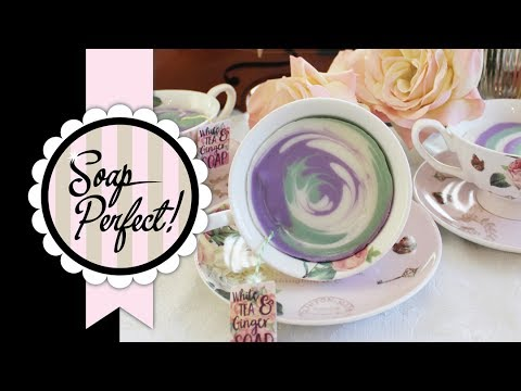 Soap in a Tea Cup