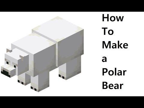 How to make a paper Polar Bear ( Minecraft ) Papercraft toy. Easy to make. Papercraft Minecraft .
