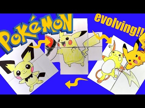 Pokemon Evolution Card DIY