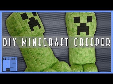 DIY Minecraft Creeper Plush