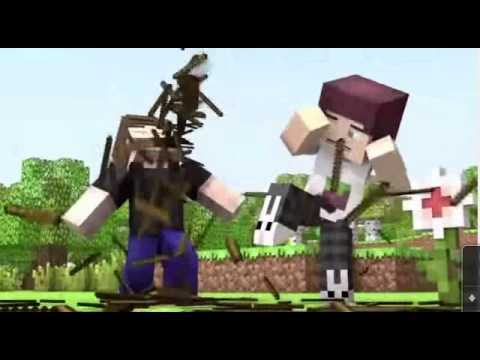 SUPER 'STICK' ANIMATION (MINECRAFT)