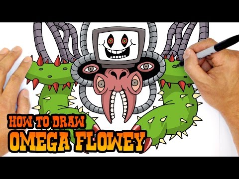 How to Draw Omega Flowey | Undertale