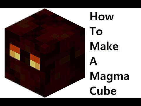 How to make a paper Magma cube ( Minecraft ) Papercraft toy. Easy to make. Papercraft Minecraft