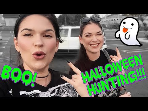 COME SPOOKY SHOPPING WITH US!!! Halloween Hunting 2019