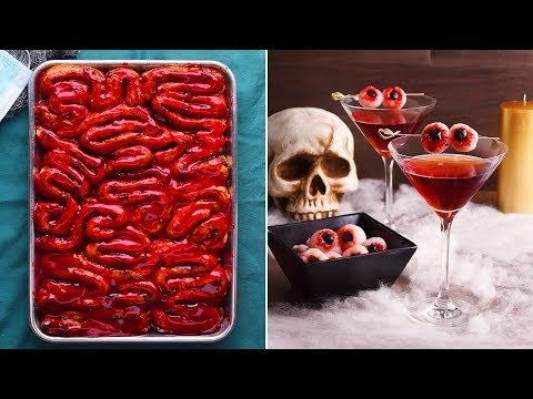 "These Halloween desserts put the ""Ooh!"" in ooky spooky! 