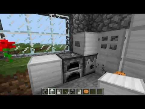 Minecraft – How to make a working refrigerator (EASY)