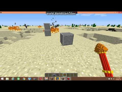 Minecraft I SUPER POWERFUL WEAPONS!! I 1.9