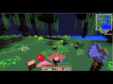 """The Basics"" Minecraft Paradise 2 0 Modded Survival Episode 1"