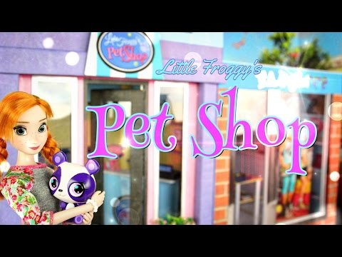 DIY – How to Make: Little Froggy's Pet Shop – Handmade – Doll – Crafts