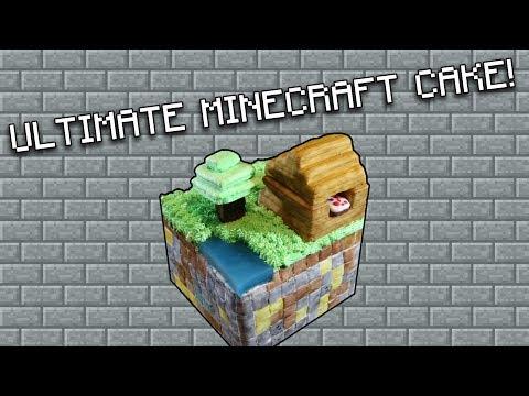 Ultimate Minecraft Cake Recipe! (Minecraft)