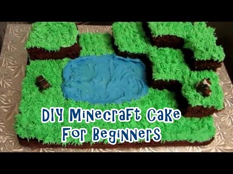 How to Make a Minecraft Cake Tutorial – Cooking & Caking