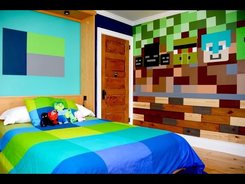 MyFixitUpLife's makeover mission: How to create a 'Minecraft' kid's bedroom