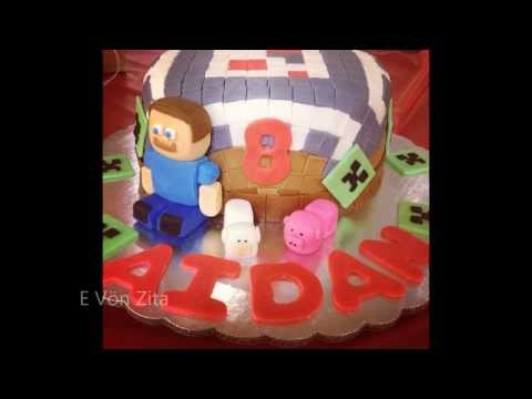 20 Awesome Minecraft Cake Ideas
