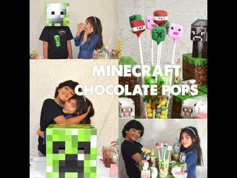 MINECRAFT MINECRAFT Chocolate Pop
