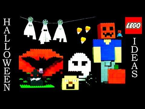 LEGO Halloween Ideas Compilation (Cool LEGO Ideas)