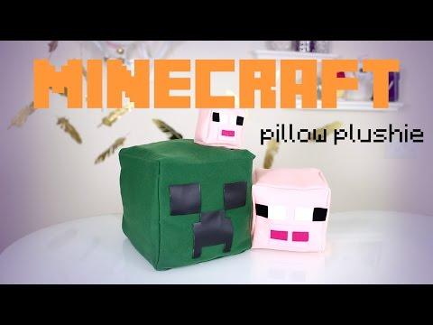 DIY Minecraft Pillow Plushies | IHasCupquake & ANN LE