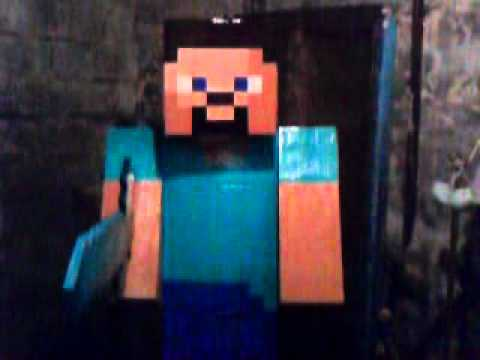 Moving around in my Minecraft Costume