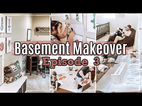 *NEW* BASEMENT MAKEOVER | EPISODE 3 BEDROOM TRANSFORMATION :: DECORATE & CLEAN WITH ME 2020