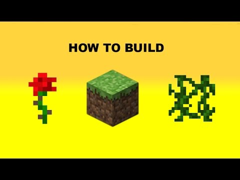 How To Build a Decorative Garden in Minecraft