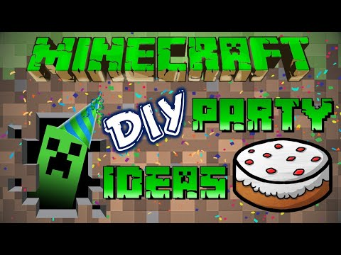 DIY Minecraft Birthday Party Ideas