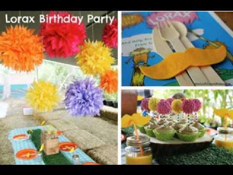 Awesome Outdoor birthday party decorating ideas