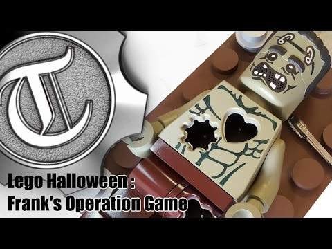 Lego Halloween : Frank's Arduino Powered Animatronic Operation Game