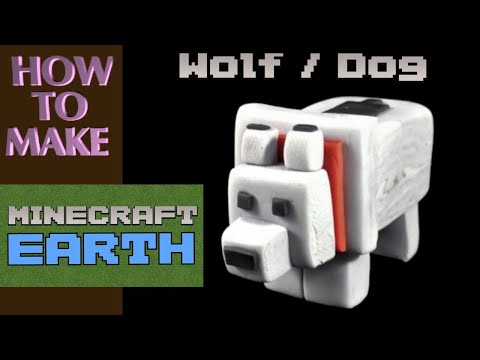 DOG / WOLF Cake Decorating Tutorial – How to Make MINECRAFT Cake Decorations by Caketastic Cakes