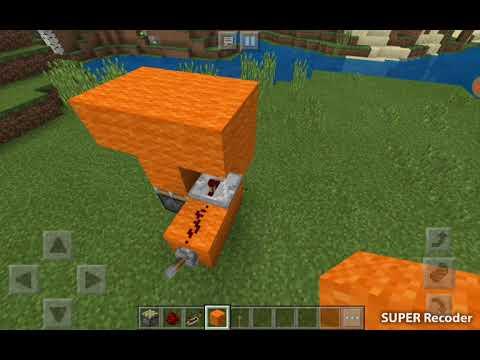 Flush with the ground trap door – minecraft
