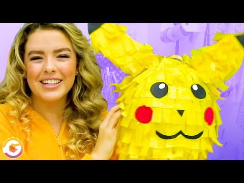 Super Easy & Fun DIY Indoor Activities for Kids | Adorable Pikachu Piñata DIY! GoldieBlox