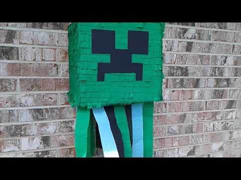 Minecraft pinata party