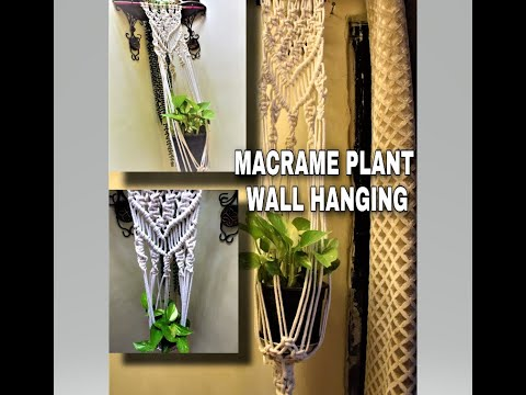 DIY – Wall Hanging by using Macrame Knots|Macrame Tutorials