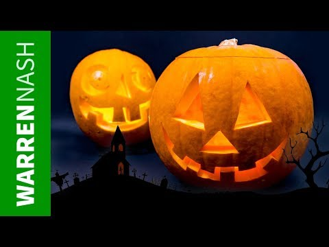 How to Carve a Pumpkin like a Pro – Easy Halloween DIY by Warren Nash